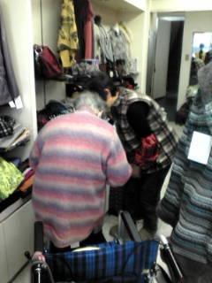 衣料品のお買い物